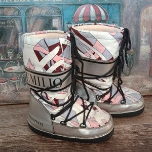 Emilio Pucci moon boots